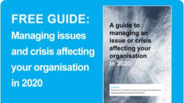 [Free White Paper] Guide to managing issues and crisis facing your organisation in 2020